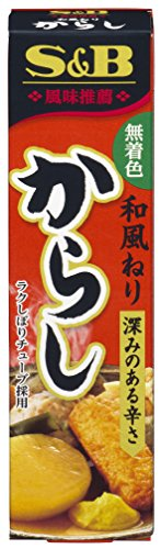S & B Japanese style kneading mustard 43g x10 pieces