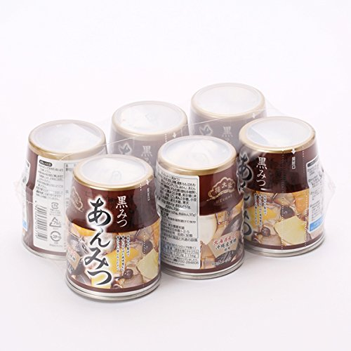 SakaeFutoshi樓 Anmitsu white honey No. 6 cans 255g x6 pieces