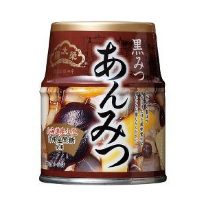 SakaeFutoshi樓 Anmitsu black honey No. 6 cans 255g x6 pieces