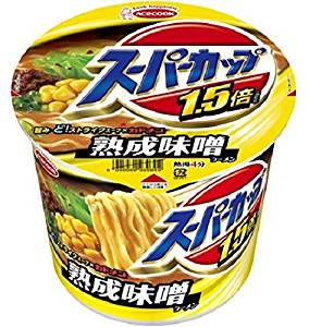 [Box] selling Acecook Super Cup 1.5 times miso cup 133g (12 pieces)