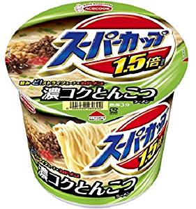 [Box] selling Acecook Super Cup 1.5 times pig bone ramen cup 112g (12 pieces)