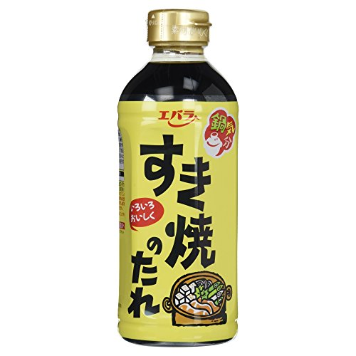 Ebara sukiyaki sauce pet 500ml x12 pieces