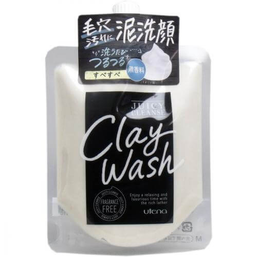 Utena Juicy Cleanse clay wash fragrance-free 110g