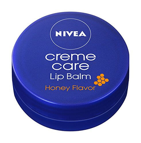 Nivea scent of cream care lip balm honey