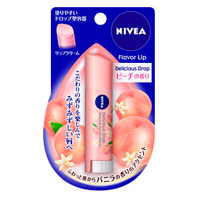 Nivea - Delicious Drop Lip Balm (Peach Fragrance)