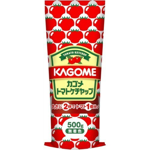 Kagome tomato ketchup tube containing 500g x10 pieces
