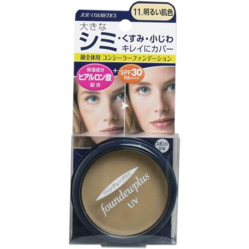 Juju Cosmetics fan Dew plus R UV Concealer Foundation 11. bright skin color