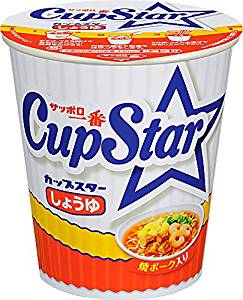 Sapporo most cup star soy sauce cup 71g
