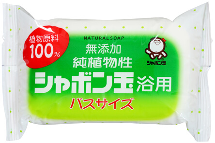 Pure Vegetable Shabondama Bath Soap Bath Size