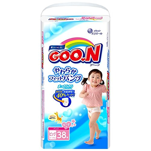 Goon soft fit pants BIG size (12 ~ 20kg) girl 38 sheets