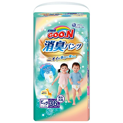 GOO.N Deodorant Pants BIG Size (12 ~ 20kg) 36 Diapers