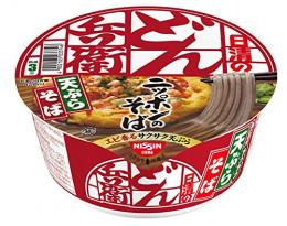 [Box] selling Nisshin Samurai Don Tenpurasoba east 100g (12 pieces)