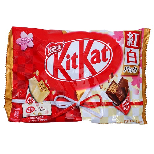 Kit Kat mini red and white pack 14 sheets
