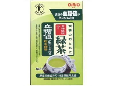 Nisshin-Oillio Group Green Tea Containing Dietary Fiber