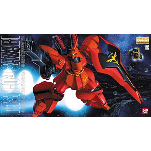 MG 1/100 Neojion army new type dedicated mobile suit MSN-04 Sazabi (Mobile Suit Gundam: Char's Counterattack)