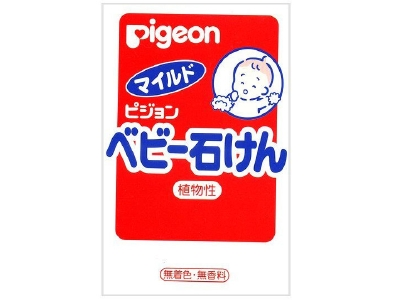 Pigeon baby soap
