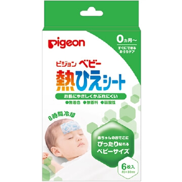 Pigeon P092 baby fever cooling sheet (6 sheets)
