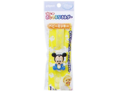 Pigeon P411 Pacifier Holder (Baby Mickey)