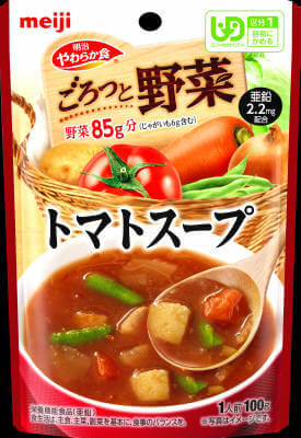 Soft diet Goro' and vegetable tomato soup (100G)