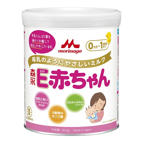 Morinaga E Baby Milk Powder(Big Can) 800g