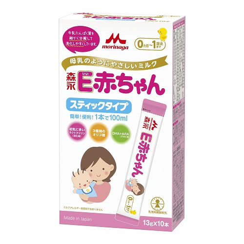 Morinaga E baby stick type 13Gx10 pieces
