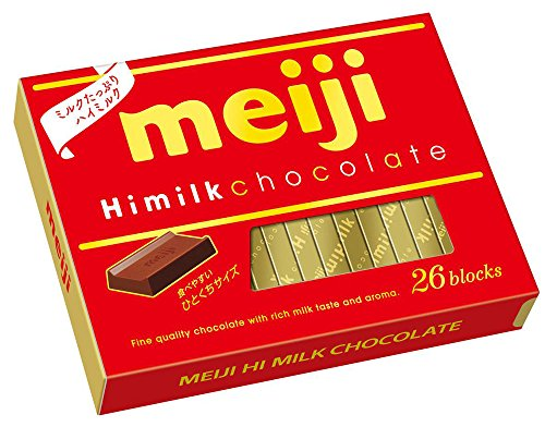 Meiji High Milk Chocolate 120g (Set of 6)