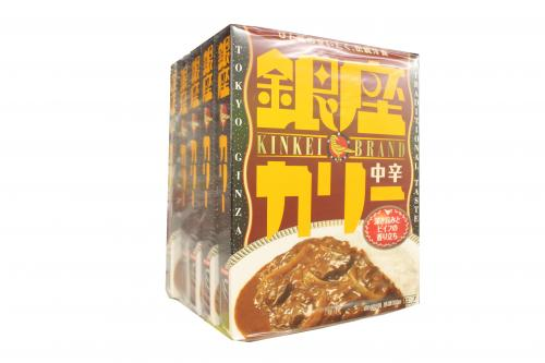 Meiji Ginza Curry in spicy 180g x5 pieces