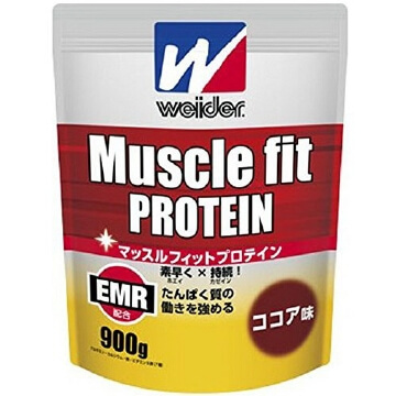 Muscle fit protein (900G) cocoa taste