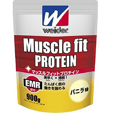 Muscle fit protein (900G) vanilla