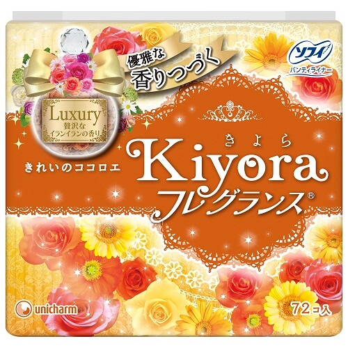 unicharm Sofy Kiyora Premium Fragrance (72 pieces)