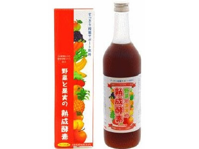 Vegetables and fruit ripening enzyme (720ML)