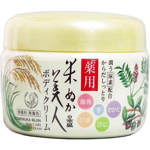 Japan Sheng rice bran beauty medicated body cream 140g