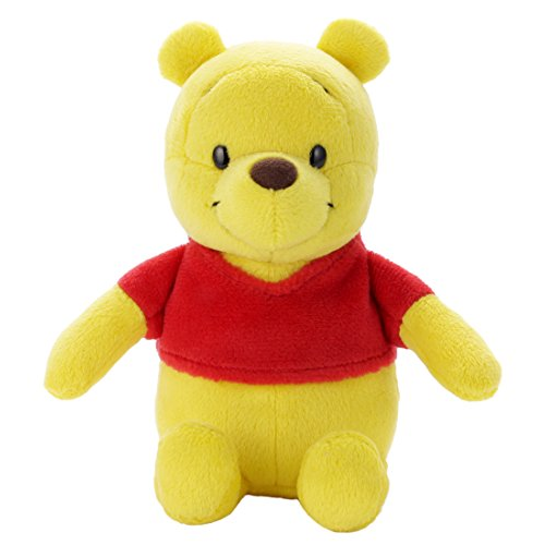 Disney Beans Collection 17 Winnie the Pooh stuffed animal sitting height 13cm