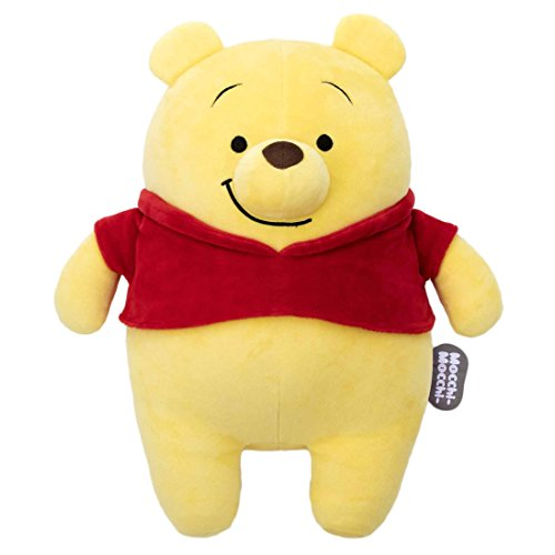 Disney Mocchi-Mocchi- stuffed M Winnie the Pooh sitting height 42cm
