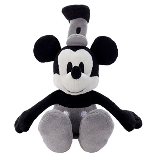 Disney Beans collections 28 Steamship Mickey Mouse stuffed toy sitting height 18cm