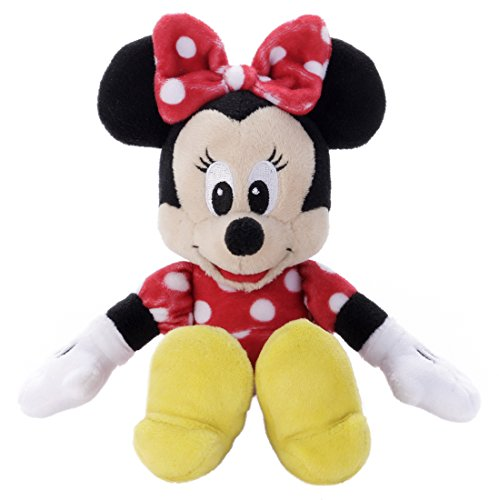 Disney Beans Collection 02 Minnie Mouse stuffed toy sitting height 16cm