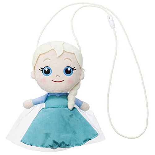 Disney Ana and snow Queen stuffed pochette Elsa overall length 21cm of