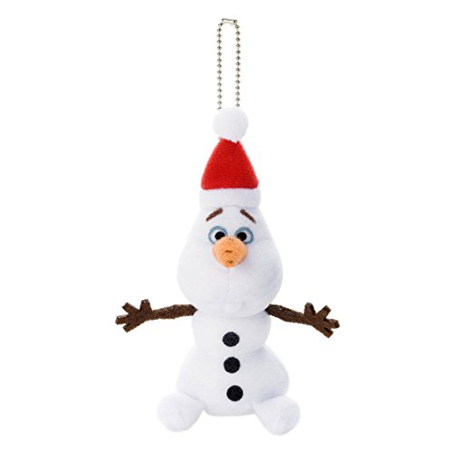 Disney / Anna and The Snow Queen / Santa stuffed / Olaf (with ball chain)