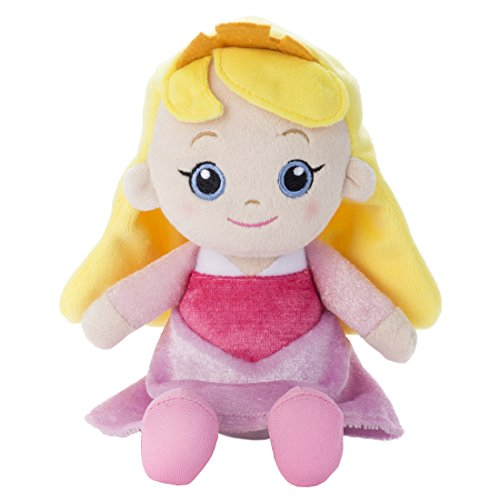 Disney Beans collection Aurora stuffed toy sitting height 15cm