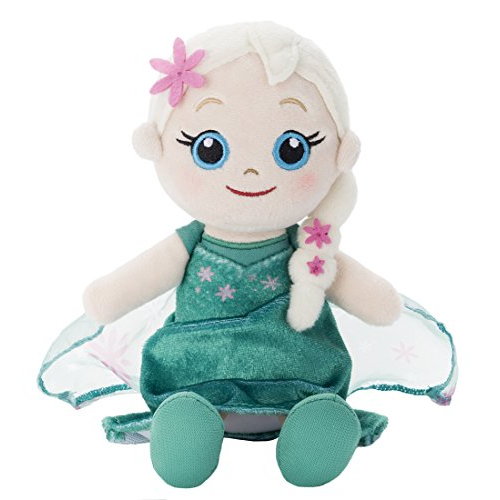 Disney Anna and The Snow Queen Elsa Surprise Beans collection Elsa stuffed full length 14cm