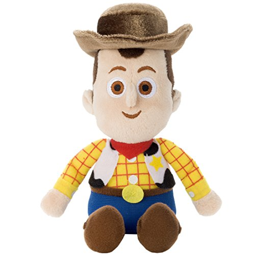 Disney Beans collection Toy Story Woody stuffed toy sitting height 16cm