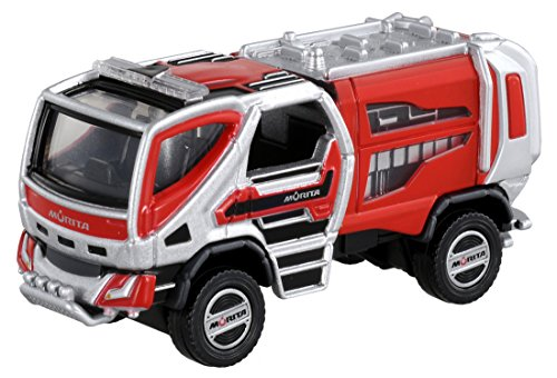 Tomica Tomica premium 02 Morita forest fire for fire engine