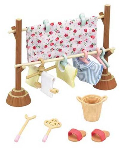 Sylvanian Families furniture clothes set car 610