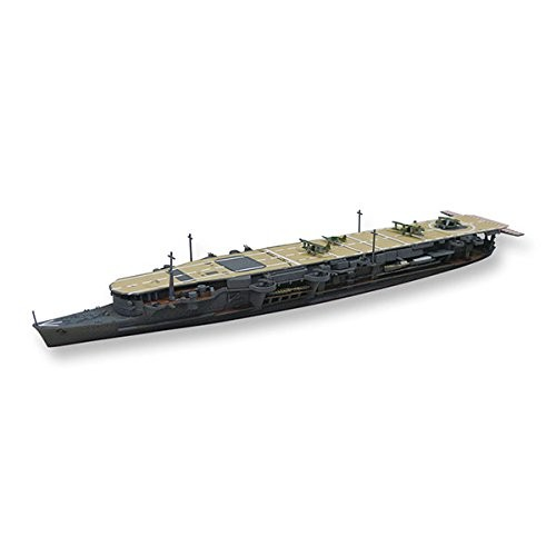 Aoshima Bunka Kyozai 1/700 Water Line Series Japanese Navy Aircraft Carrier Ryu驤 the Second renovated after the plastic model