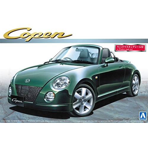 Aoshima Bunka Kyozai 1/24 The Best Car GT Series No.29 Daihatsu Copen active top plastic model