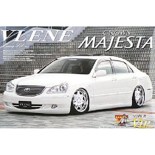 Aoshima Bunka Kyozai 1/24 Super VIP CAR No.81 Blaine UZS186 Crown Majesta Early Type