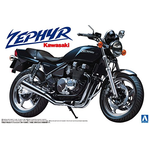 Aoshima Bunka Kyozai 1/12 bike series No.1 Kawasaki Zephyr Model Car