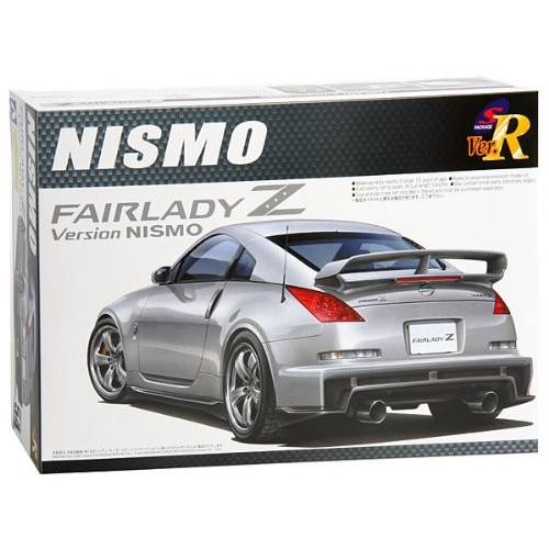 Aoshima Bunka Kyozai 1/24 S package Ver.R No.54 Nissan Fairlady Z Version NISMO 2007 model Plastic