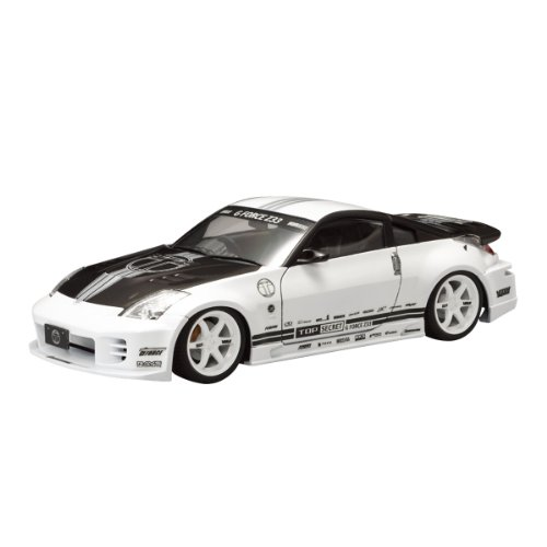 Aoshima Bunka Kyozai 1/24 S package Ver.R No.48 top secret Nissan Z33 Fairlady Z Plastic