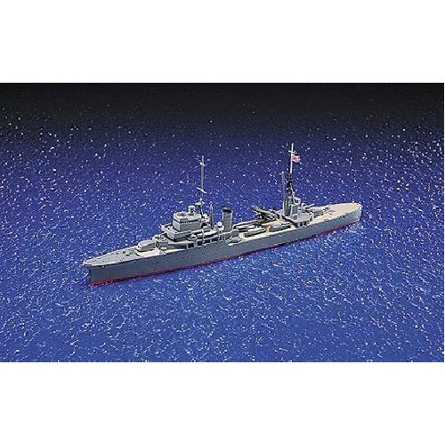 Aoshima Bunka Kyozai 1/700 Water Line Series Japanese Navy Light Cruiser Katori plastic model 328